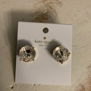 Kate Spade gumdrop large earrings